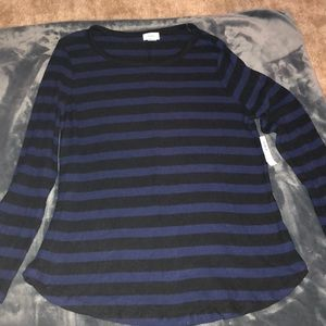 Old navy robbed long sleeve